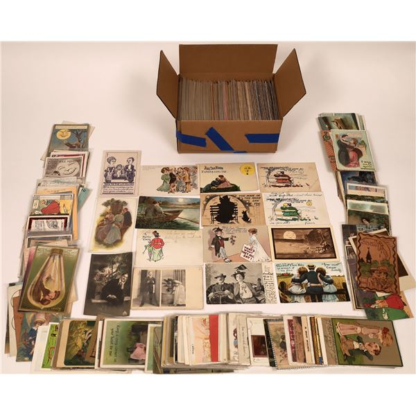 Spooning Postcard Group >650  [137119]