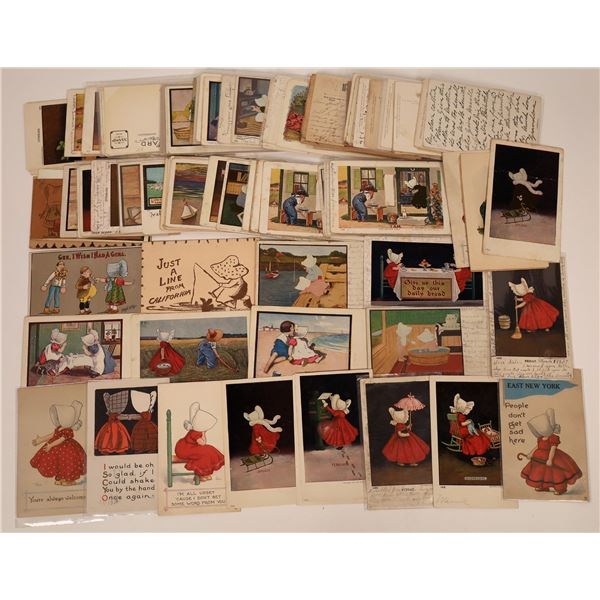 Sun Bonnet Postcard Collection  [138839]