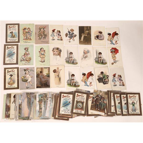 Tuck and Gutman Postcard Collection (82)  [136530]