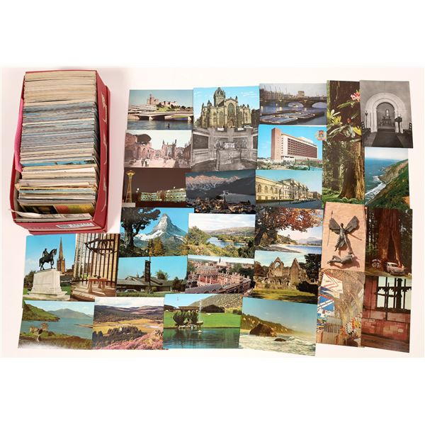 Unsorted Grab Bag #14 -- More U.S. Postcards ~ 600  [138797]
