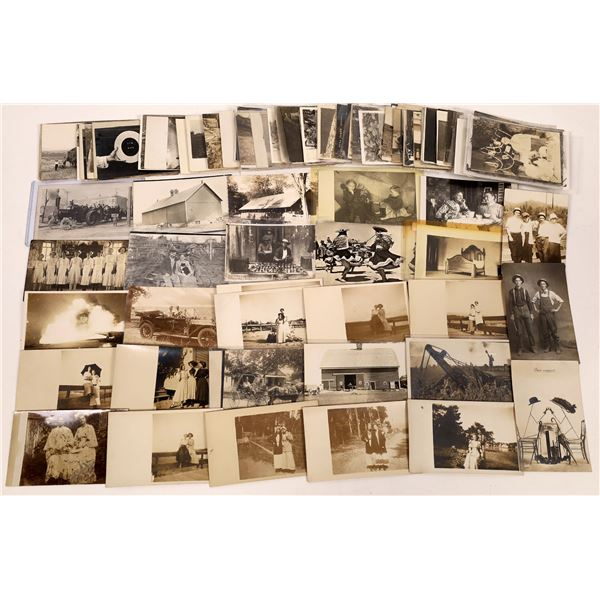 Unsorted Real Photo Postcards (RPCs) ~100  [138793]