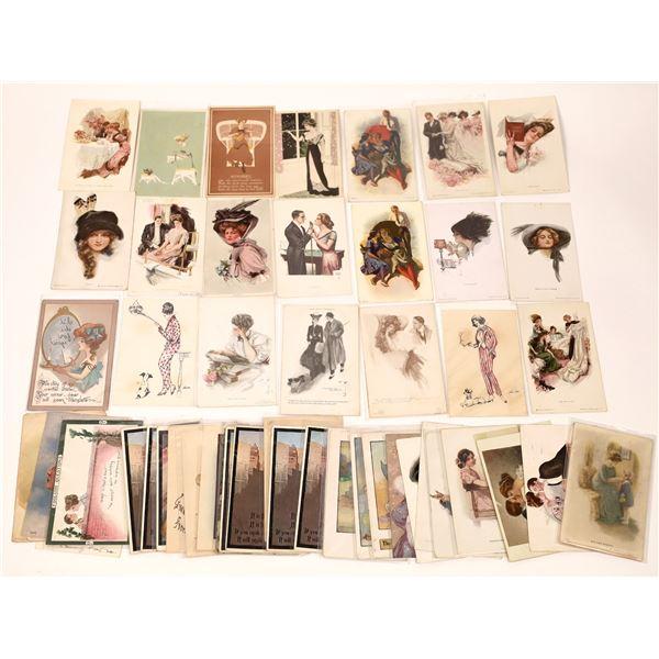 Women Themed Postcard Group (50+)  [137073]