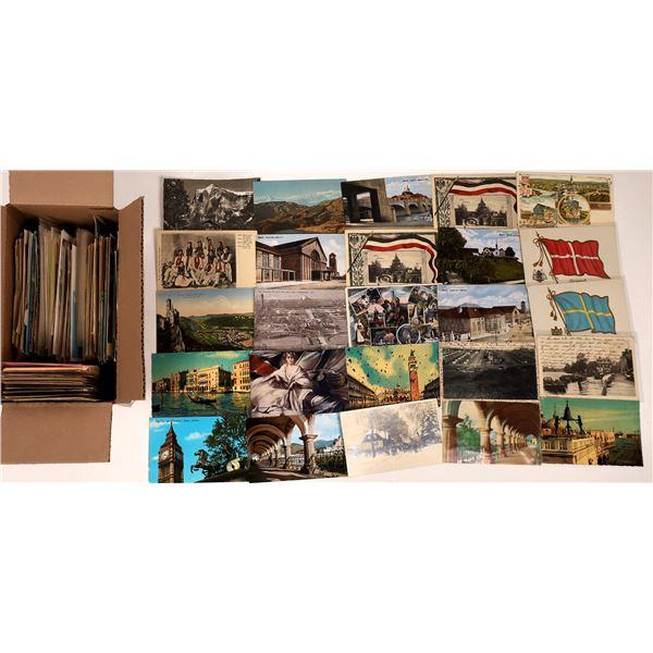 Western Europe Vintage Postcard Group  [138976]