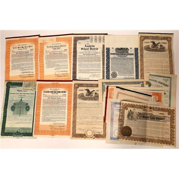Orange County School Bond Collection  [135675]