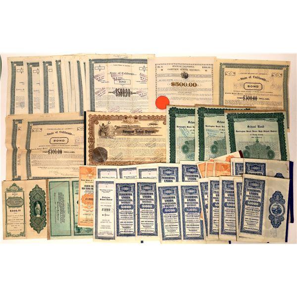 Orange County School Bonds Dealer Lot  [135674]