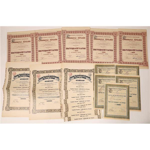 Compagnie Francaise de Commerce Africain Bond Certificates  [135940]