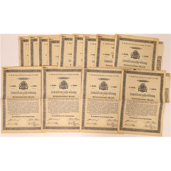 Schuldverfchreibung des Verbandes Grob Berlin Bond Certificates  [132644]