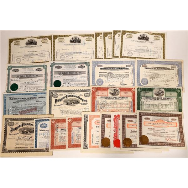 Philippine Stock Certificate Collection  [135073]
