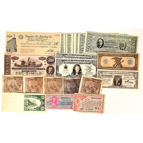 US Fun Money and Scrip  [136107]