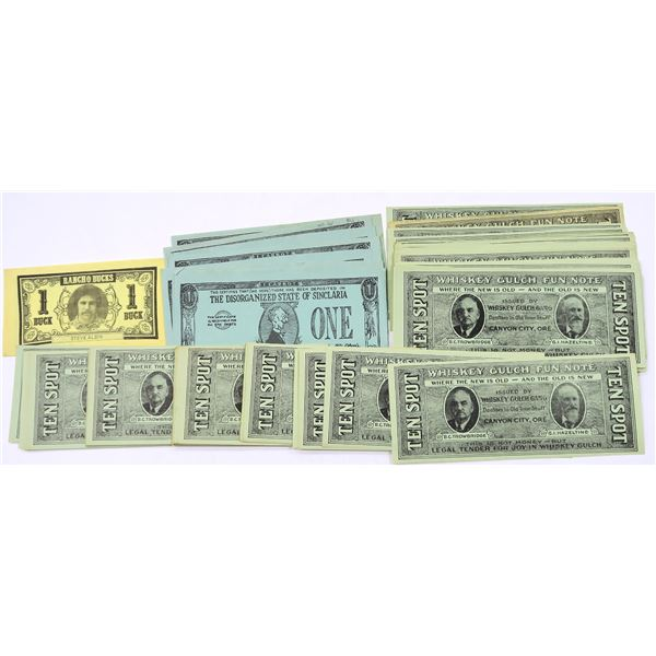 Funny Money Advertising Notes  [136382]