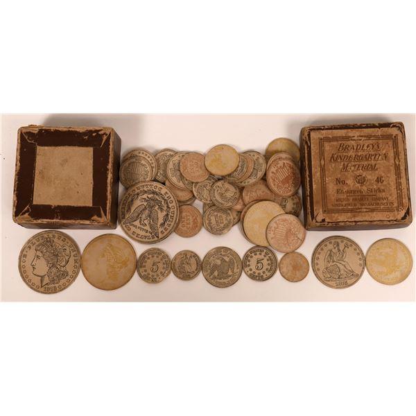 Teaching Coins for Kindergarten  [135104]