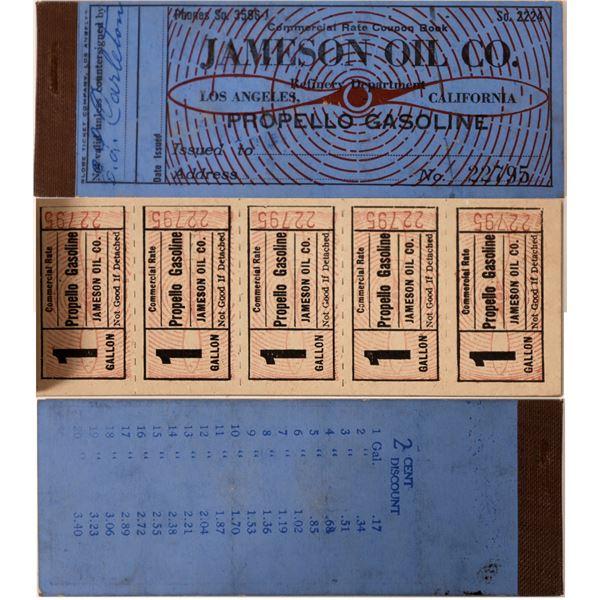 Gasoline Tokens Jameson Oil Company  [135663]