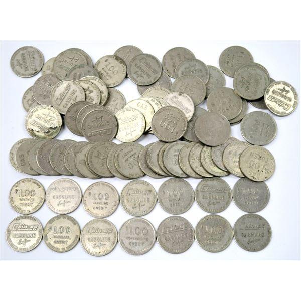 California Coin Op Gasoline Tokens  [136765]