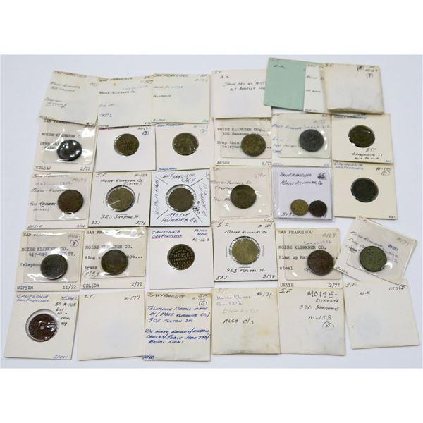 Moise Klinkner Token Collection  [136750]
