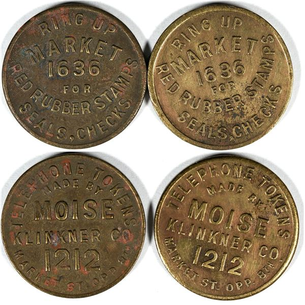 Red Rubber Stamp Co. Tokens  [136658]