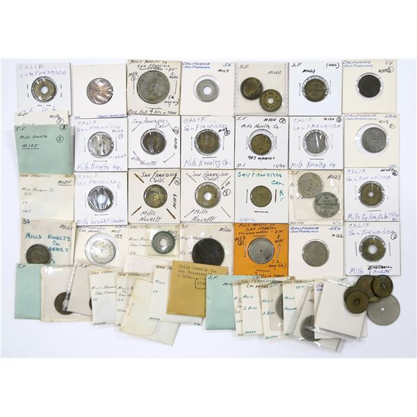 Mills Novelty Co. Token Collection  [136751]