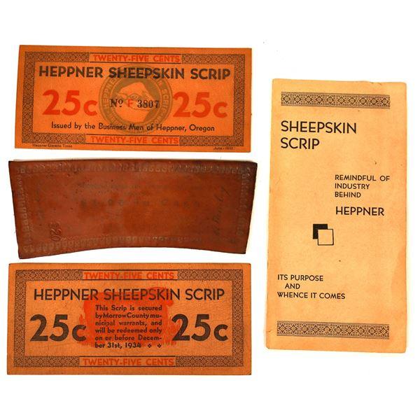 Heppner Sheepskin Scrip  [136480]