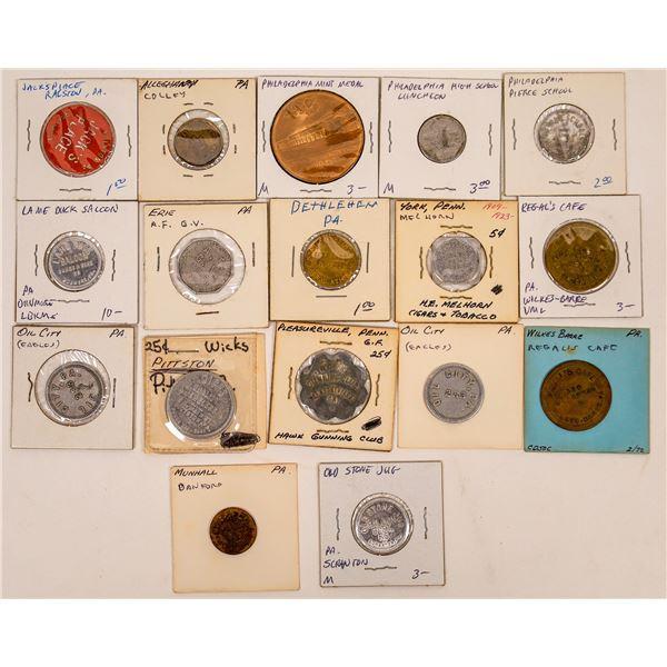 Pennsylvania Token Collection  [136422]