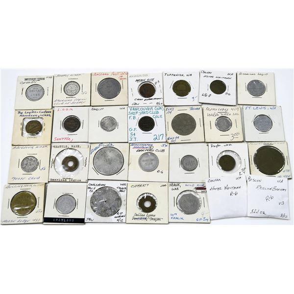 Washington Token  Collection  [136760]