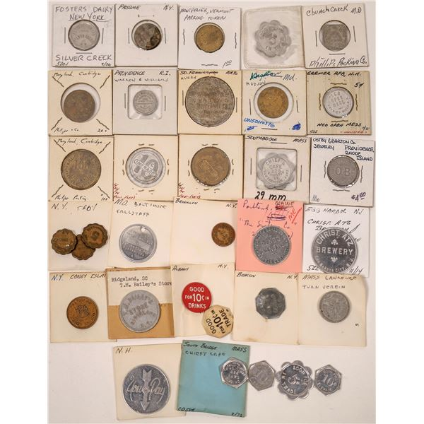Eastern States Token Collection  [136423]