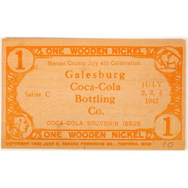 Coca Cola Wooden Money  [136449]