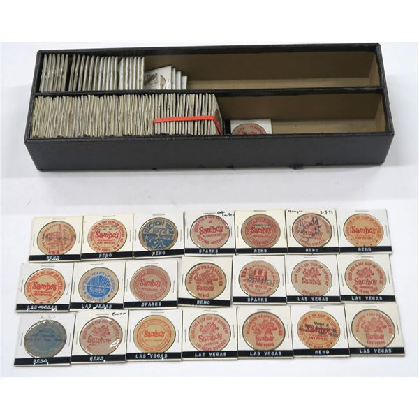 Nevada Wooden Nickel Collection  [136381]