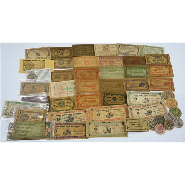 Wooden Money Collection: Midwest  [136444]