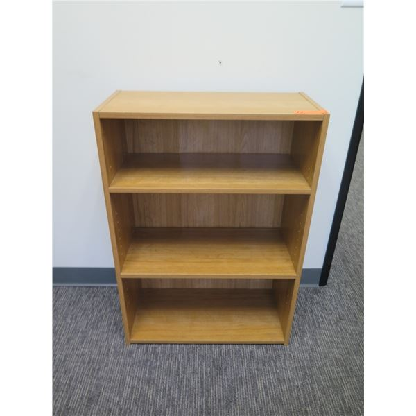 "Wooden 3 Tier Shelf 24""x12""x35""H"