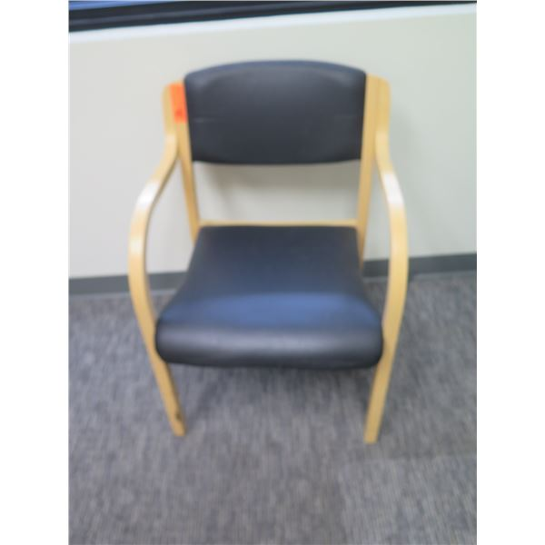 """Wooden Office Upholstered Arm Chair 18""""x23"""""""