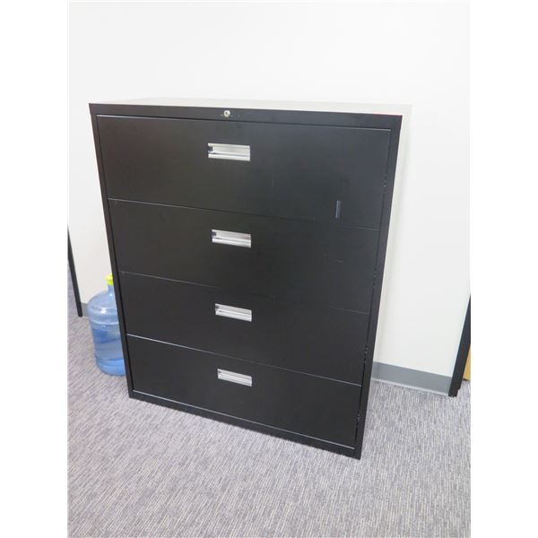 Metal 4 Drawer Lateral File Cabinet 42 x20 x51 H