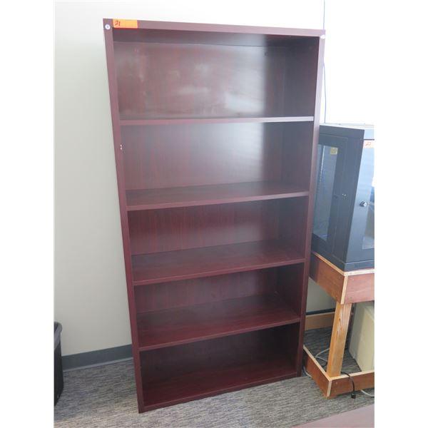 "Wooden 5 Tier Shelf 35""x12""x70""H"
