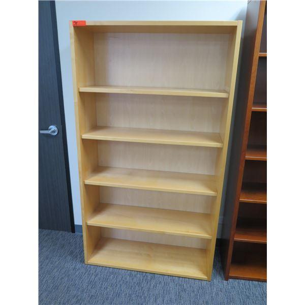 "Wooden 5 Tier Shelf 40""x71""H"