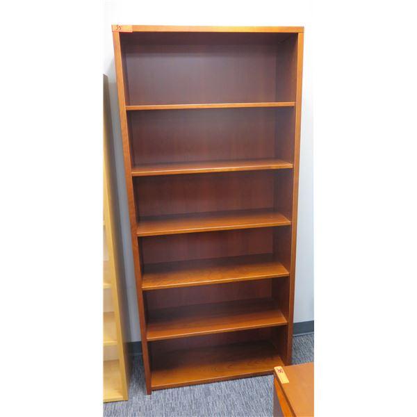 "Wooden 6 Tier Shelf 40""x71""H"