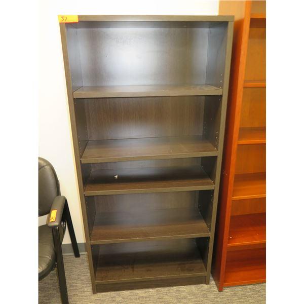 "Wooden 5 Tier Shelf 31""x66""H"