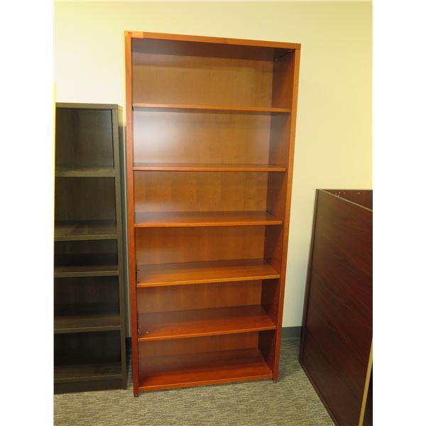 "Wooden 5 Tier Shelf 35""x79""H"