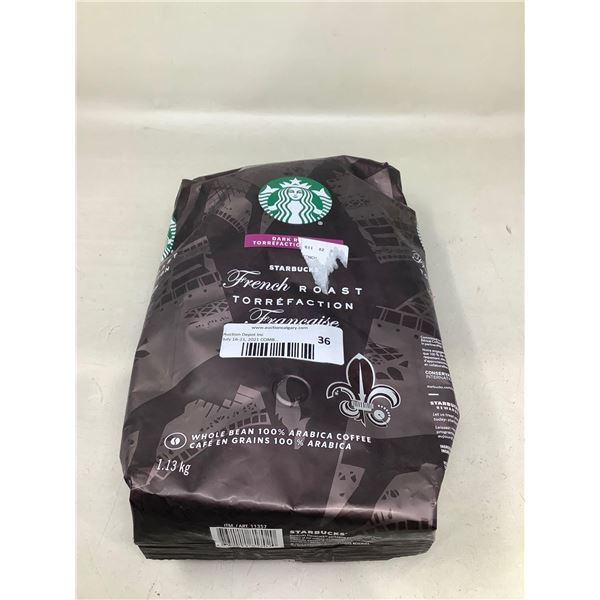 Starbucks French Roast Whole Beans (1.13KG)