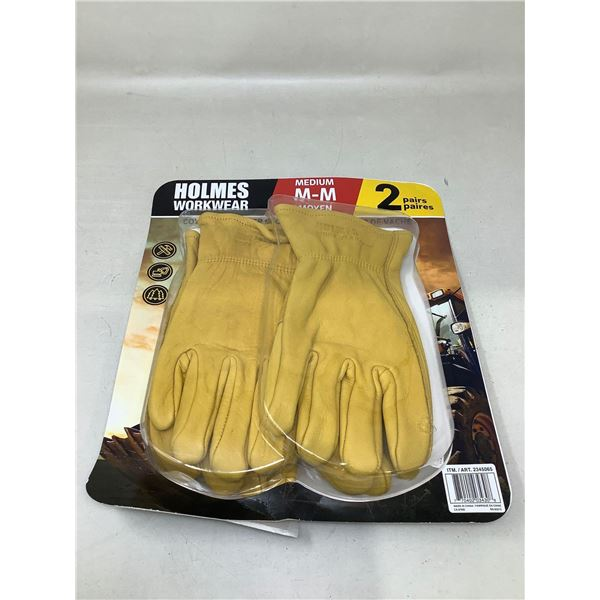 Holmes WorkwearGloves 2 Pair Size M