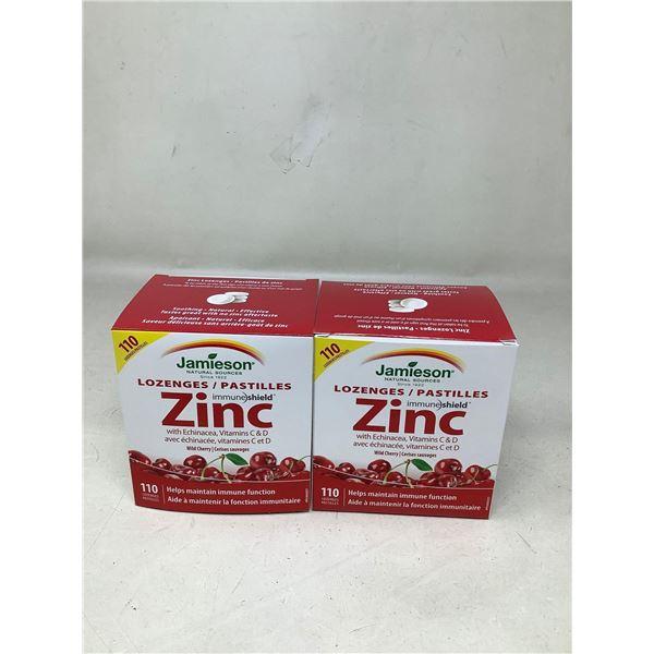 Jamieson Zinc Lozenges W/ Echinacea (2 X 110)