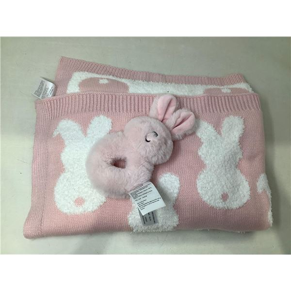 Blanket With Matching Stuffed Toy
