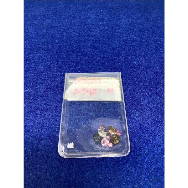 Lot of assorted Gemstones 2.67 Carat Total