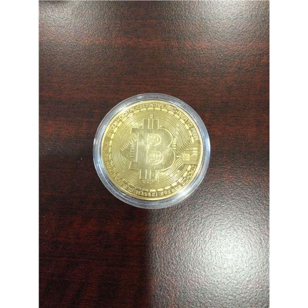 BitCoin medallion