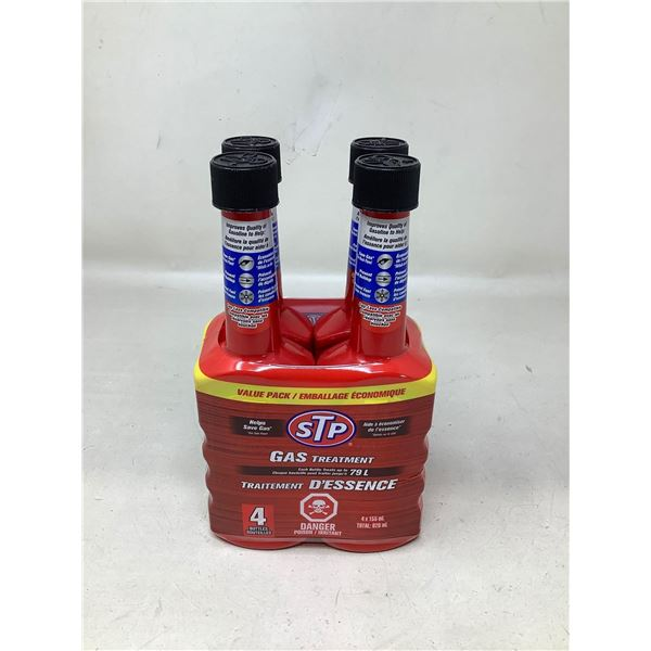 STP Gas Treatment Each Bottle Treats 79L (4 X 155ML)