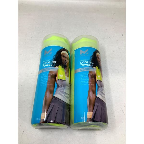 Mission Instant Cooling Towel Lot Of 2