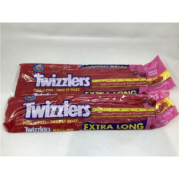 Twizzlers Extra Long Pull N Peel Lot Of 2