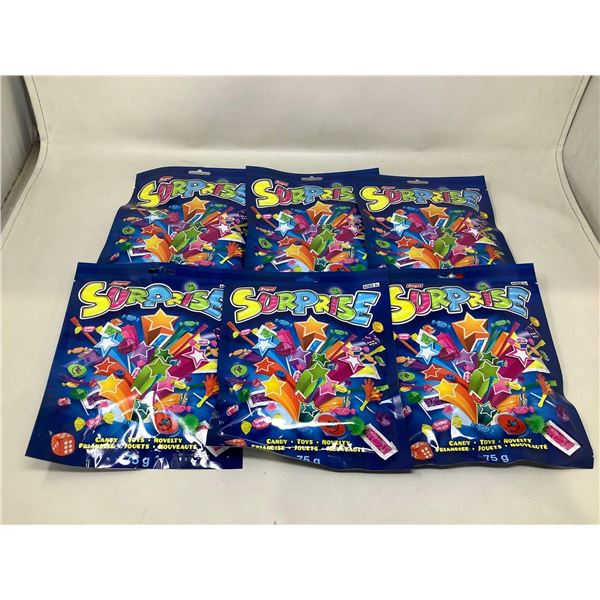 Surprise Candy, Toys and Novelty Bags (6 X 75G)