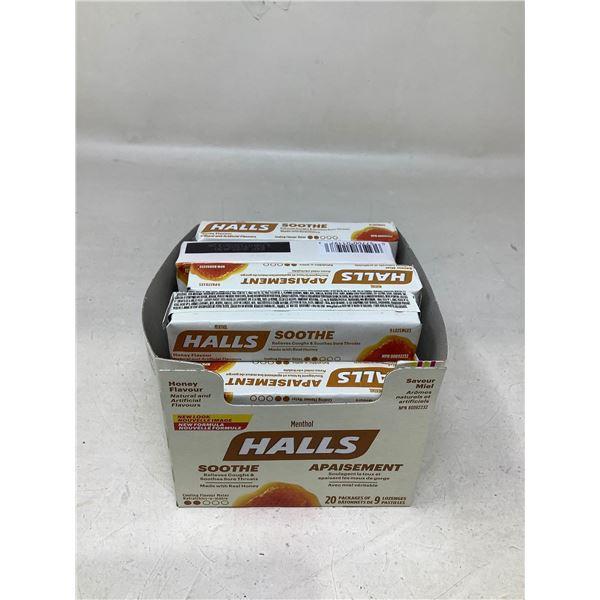 Halls Menthol Honey Flavour