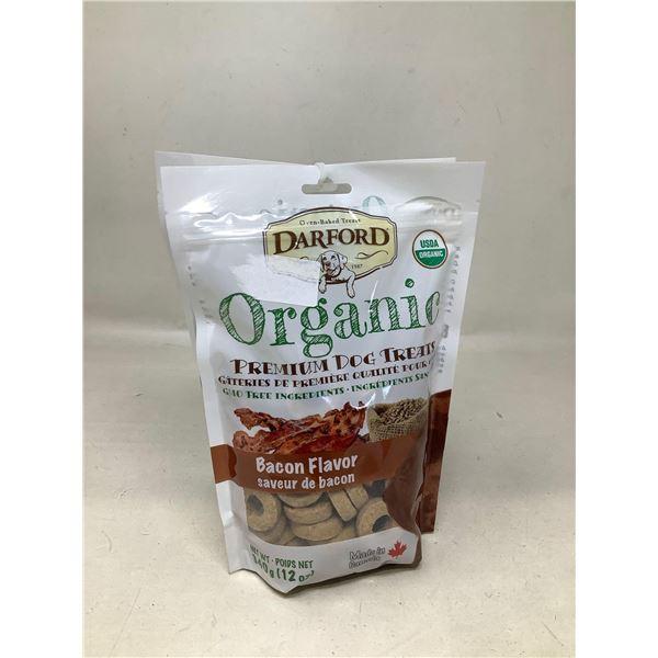 Darford Organic Premium Dog Treats Bacon Flavor (340G)