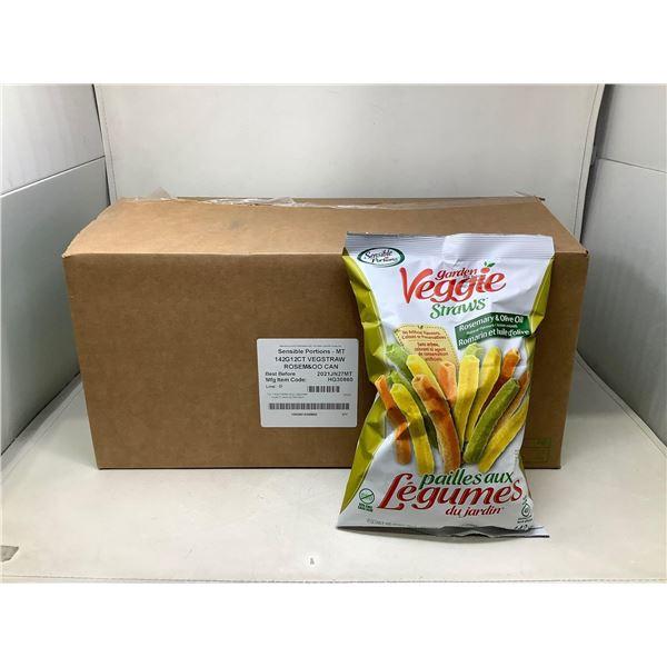 Garden Veggie Straws Rosemary & Olive Oil (12 X 142G)