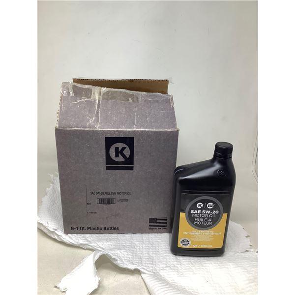SAE 5W-20 Motor Oil Full Synthetic (6 X 946ML)