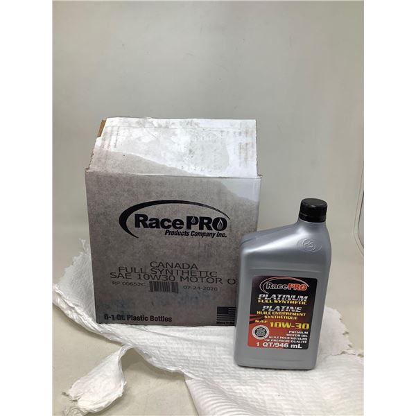 RacePro Platinum Full Synthetic SAE 10W-30 (6 X 946ML)